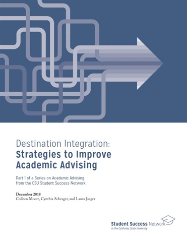 Destination Integration report cover