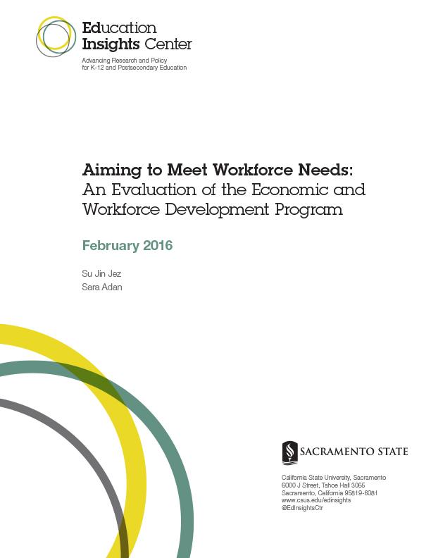 Aiming To Meet Workforce Needs